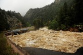 Major flooding near Lyons, Co.